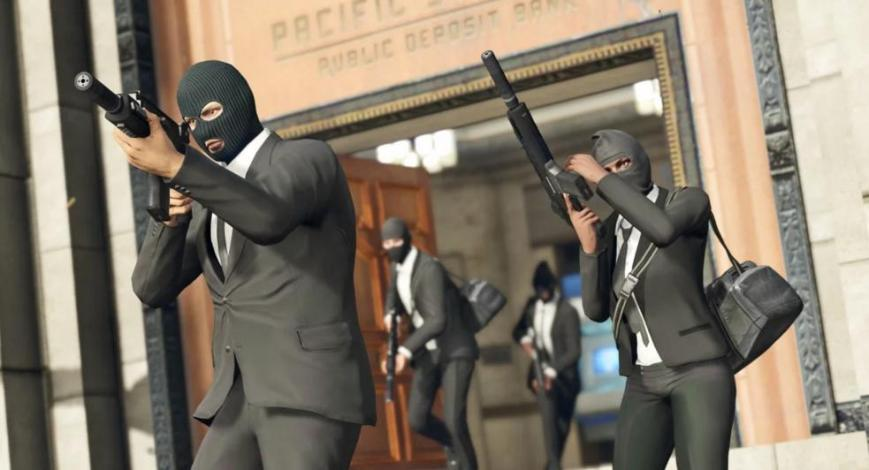 GTA Online Robbery